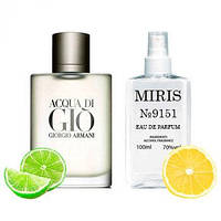 Духи MIRIS №9151 Armani Acqua Di Gio Pour Homme Для Мужчин 100 ml