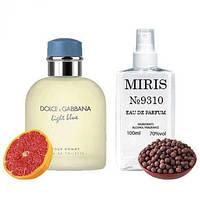 Духи MIRIS №9310 Dolce & Gabbana Light Blue Pour Homme Для Мужчин 100 ml