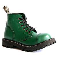 Средние ботинки Steel зеленые 6 дырок 127/128/O/F.GRE, фото 1