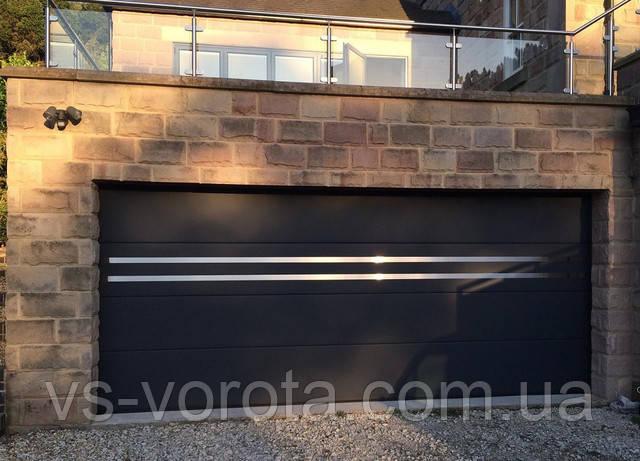 Автоматические ворота гаражные производство Ритерна Киев - подъемные, роллетные и секционные конструкции
