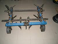 Культиватор междурядной  обработке КМО-1  для  мотоблоков, фото 1