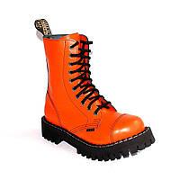 Высокие ботинки Steel оранжевые 10 дырок 105/106/O/F.ORG, фото 1
