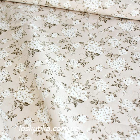 39012 Белая невеста. Ткань для изделий хендмэйд, для пошива кукол, для пэчворка и для декорирования.