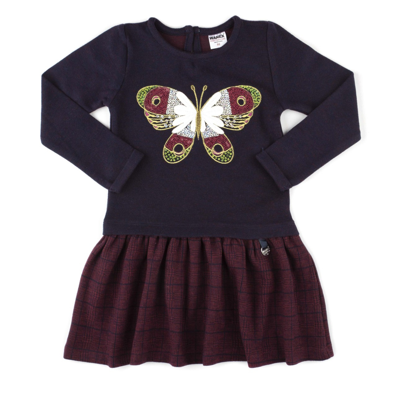 460ef1febf1 Платье WANEX с бабочкой 92 98 104 116 122 - Polyanka в