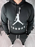 Кофта мужская Air Jordan D5783 черная утепленная