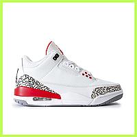 1b66fe5b Мужские кроссовки Nike Air Jordan 4 White белые сникеры (Реплика ААА+ класса )
