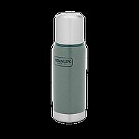 Классический термос без ручки Stanley Adventure 0.47 л зеленый