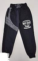 Спортивные штаны подростковые для мальчика 13-16 лет, черные