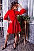 Шелковое платье с пышной юбкой 14ty2352, фото 7