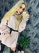 Вязаное свободное платье с широкими рукавами и высокой горловиной 73ty2362, фото 2