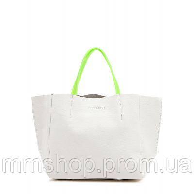 Сумка женская кожаная POOLPARTY Soho Leather Soho Bag белая