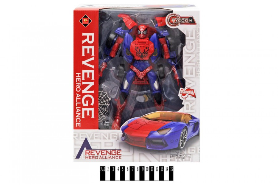 Трансформер Spiderman JJ618А, спайдермен
