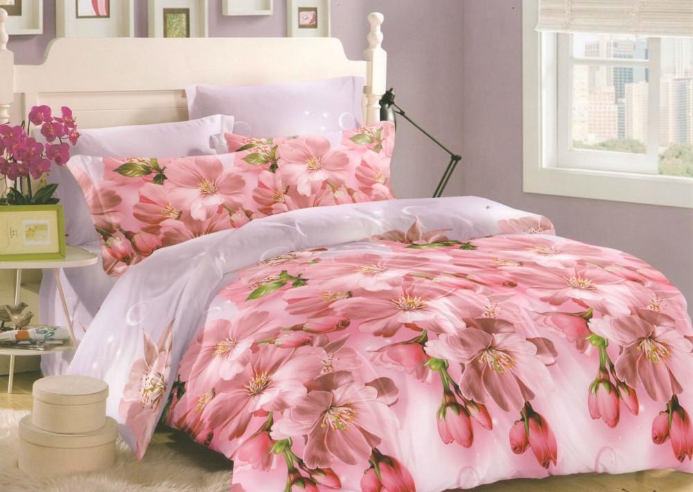 """Комплекты постельного белья сатин  """"Персиковый цвет"""""""