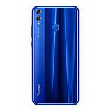 Смартфон Huawei Honor 8х синий (экран 6,5 дюймов, памяти 4/64,  батарея емкостью 3750 мАч), фото 2