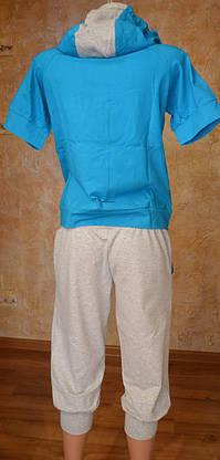 Женский летний спорт. костюм (футболка, капри), фото 2