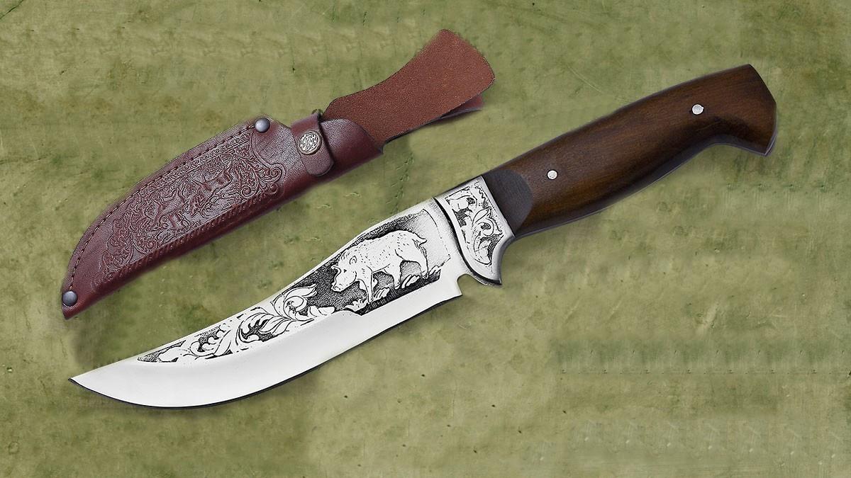 Нож ручной работы для охоты и рыбалки