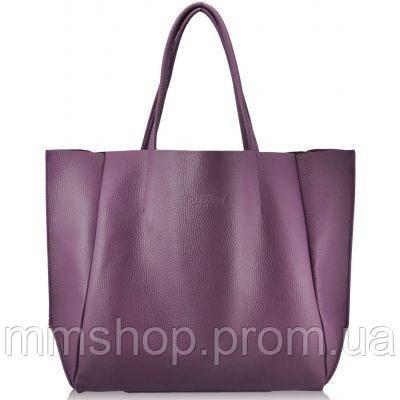 Сумка женская кожаная POOLPARTY Soho Leather Soho Bag лиловая, фото 1