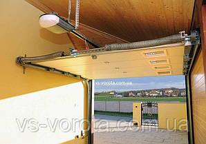 Ворота RYTERNA размер 3400х2200 мм - TLB Литва - гаражные секционные