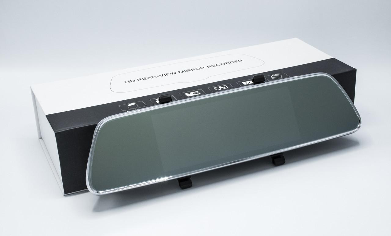 Зеркало регистратор Android S35 + камера заднего вида + GPS Видеорегистратор-зеркало регистратор в авто