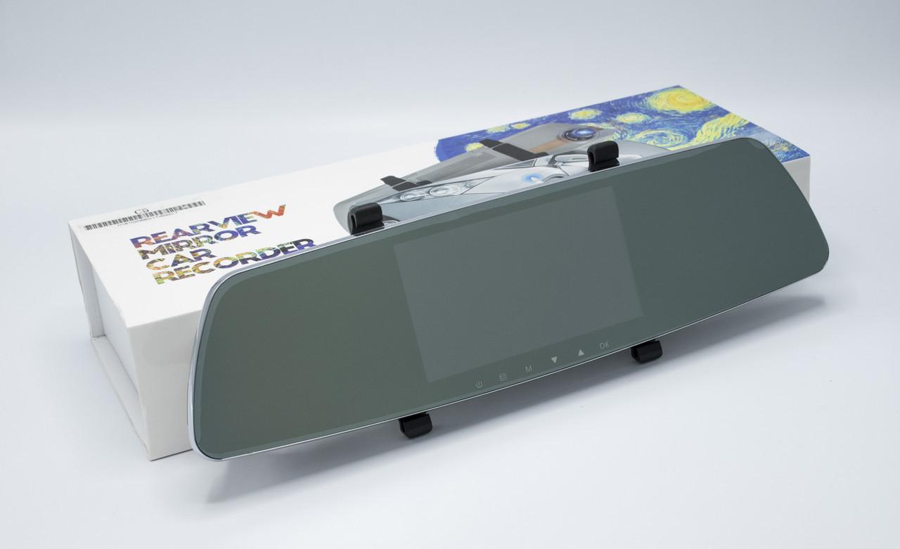 Зеркало регистратор + камера заднего вида REARVIEW MIRROR C5 Видеорегистратор-зеркало регистратор в авто