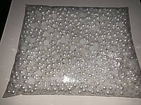 Полу - бусы №10 500г цвет белый