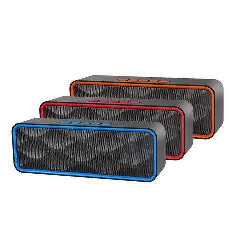 Портативная Bluetooth колонка SPS SC-211, Портативный динамик, беспроводная колонка