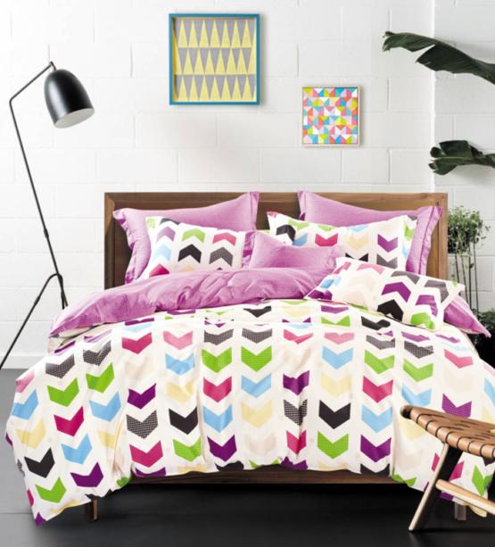 """Хлопковое постельное белье сатин люкс  """"Оригами"""""""