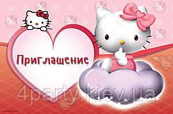 Запрошення Hello Kitty 20 шт 140316-018