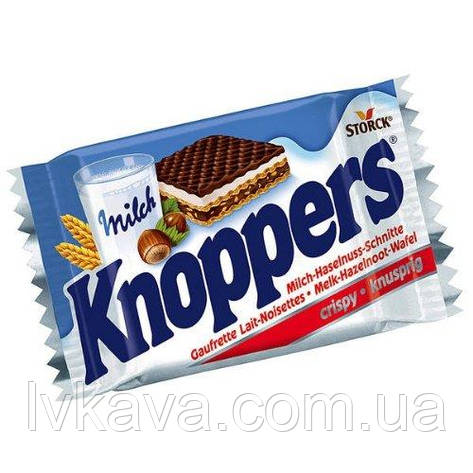 Вафли Knoppers ,  25 гр, фото 2