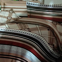 Ткань для пошива постельного белья бархатный сатин сублимация 001