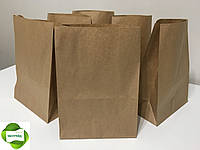 Крафт-пакет с дном 210*115*290 бурый