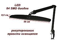 Рабочая лампа, лампа для маникюра  мод. 8015 LED чёрная