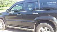 Хром молдинг стекла Toyota Prado 120 нержавейка