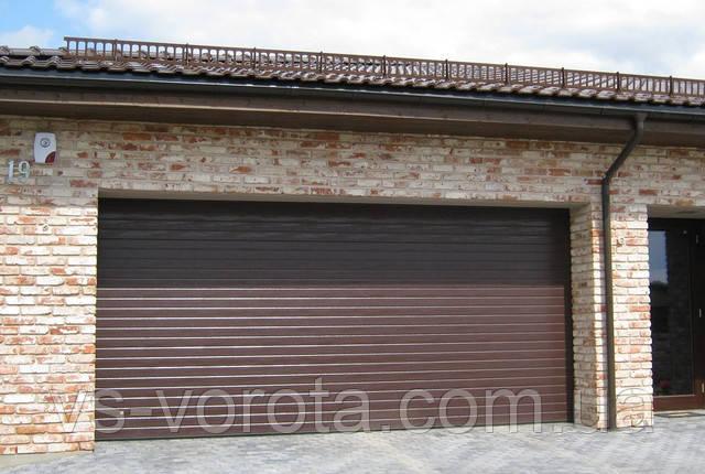 Купить секционные ворота для гаража - установка Днепр, Полтава, Херсон