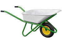 Тачка садово-строительная, усиленная, грузоподъемность 200 кг, объем 90 л. PALISAD