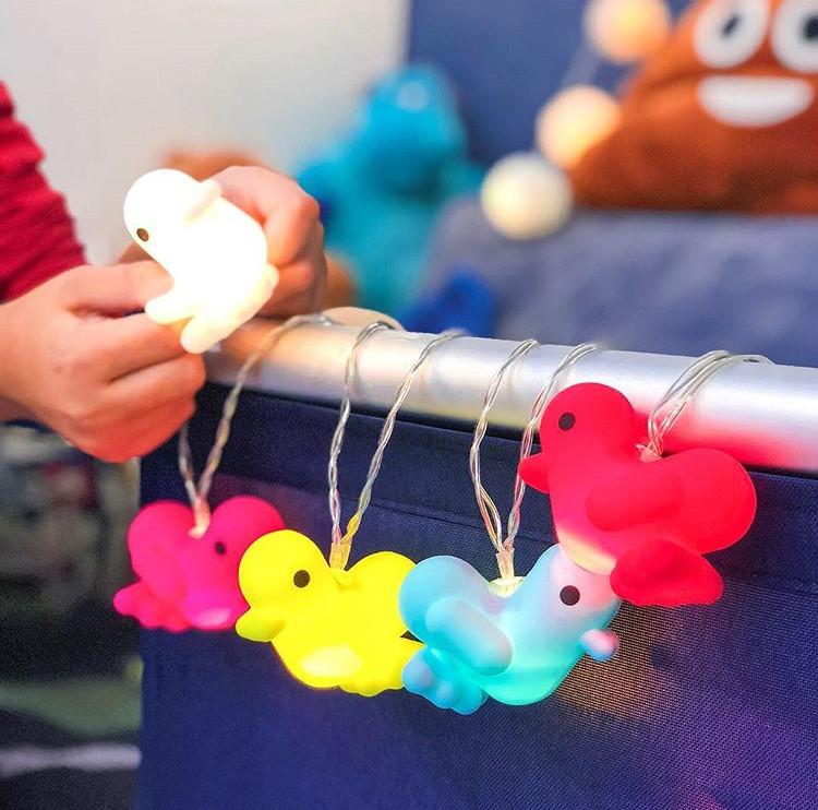 Детский светильник-гирлянда Canar Канарейки, 150 см (ночник-игрушка)