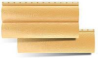 Сайдинг блок-хаус золотистый. Сайдинг под бревно золотистый. Блок-хаус золотистый купить в Украине.