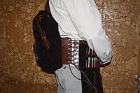 Патронташ  разгрузка кожаный - эксклюзив