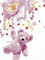 Художественный творческий набор, картина по номерам У нас девочка!, 30x40 см, «Art Story» (AS0486), фото 1
