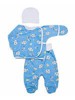 Комплект для новорожденного мальчика или девочки с начесом, фото 1