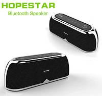 Беспроводная портативная колонка Hopestar A4 (NFC/FM/3D Stereo/10W/Original) Чёрная, фото 1