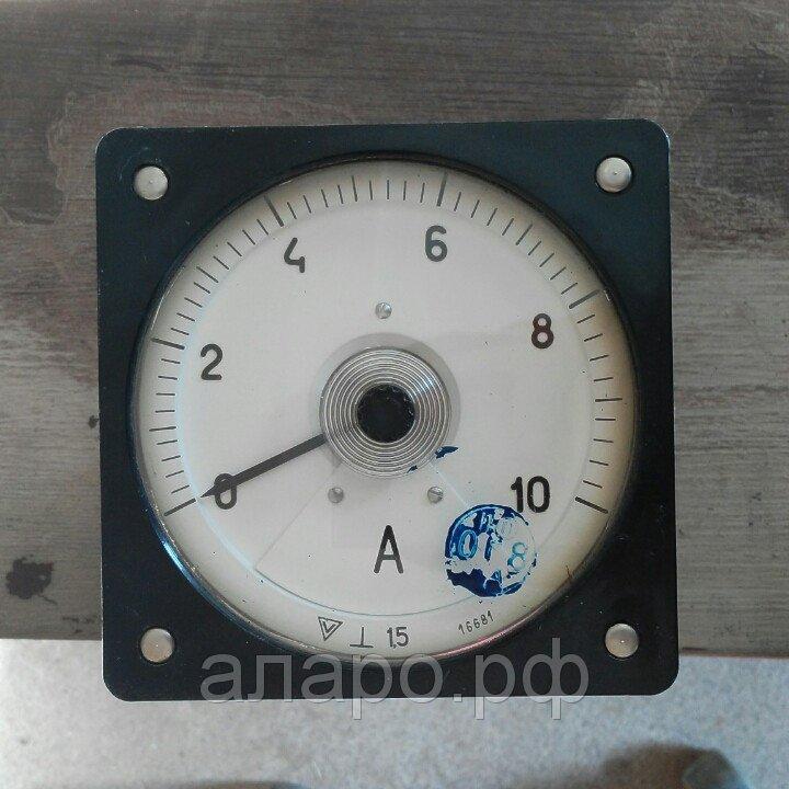 Амперметр М1611 0-10А