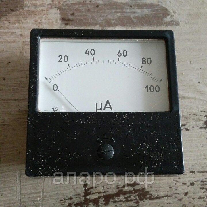 Амперметр М42304 0-100 мкА