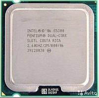 Процессор Intel Pentium E5300 (2.6GHz, 2MB, 45nm, 800 MHz FSB, 65W, s775) tray