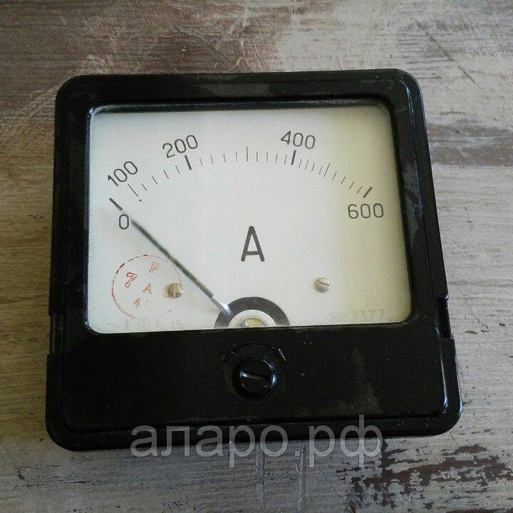 Амперметр Э377 0-600А