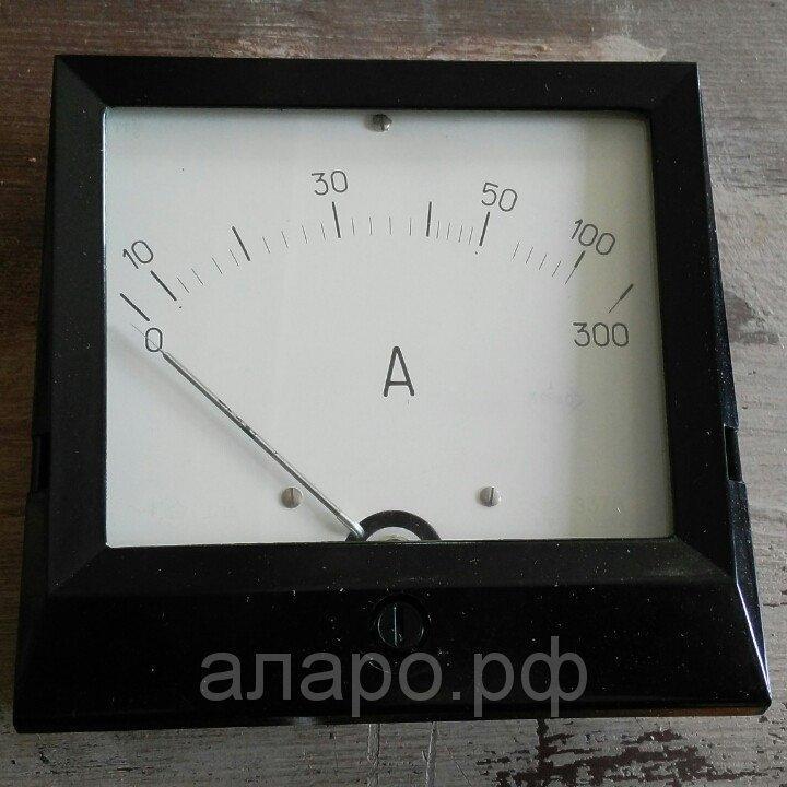 Амперметр Э378 0-300А