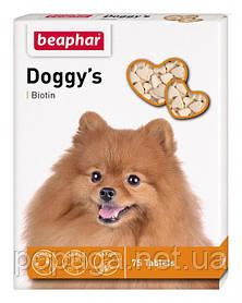 Beaphar Doggy's Biotin витамины с биотином для взрослых собак, 75 табл.