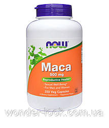 Now Foods, Маку, 500 мг, 250 вегетаріанських капсул