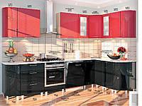"Кухня Хай-тек ""КХ-166"" (3,1х1,7м)(Комфорт)"