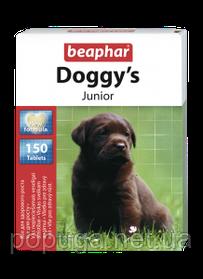 Beaphar Doggy's Junior витамины для щенков, 150 табл.